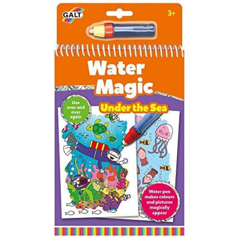 Water Magic Carte de colorat Lumea acvatica Galt