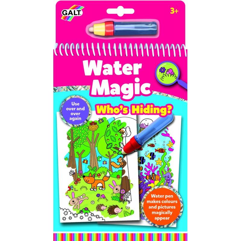 Water Magic Carte de colorat Who s Hiding Galt