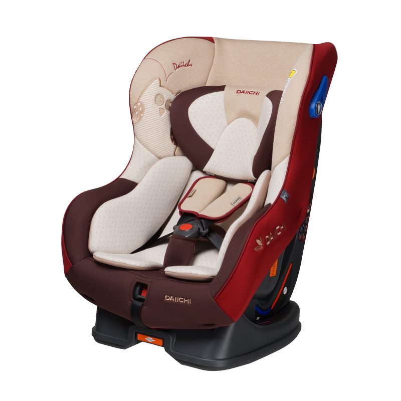 Scaun Auto Dualwell Organic Red Daiichi