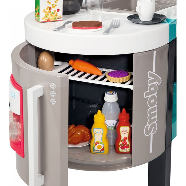 Bucatarie Smoby Tefal French Touch Bubble cu oala magica si accesorii