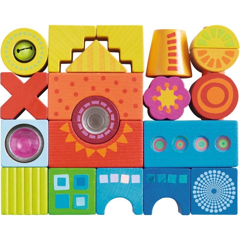 Blocuri de constructie Haba Bucuria culorilor