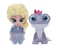 Set 2 Mini Figurine Elsa si Cameleon Whisper and Glow Frozen 2 Giochi Preziosi
