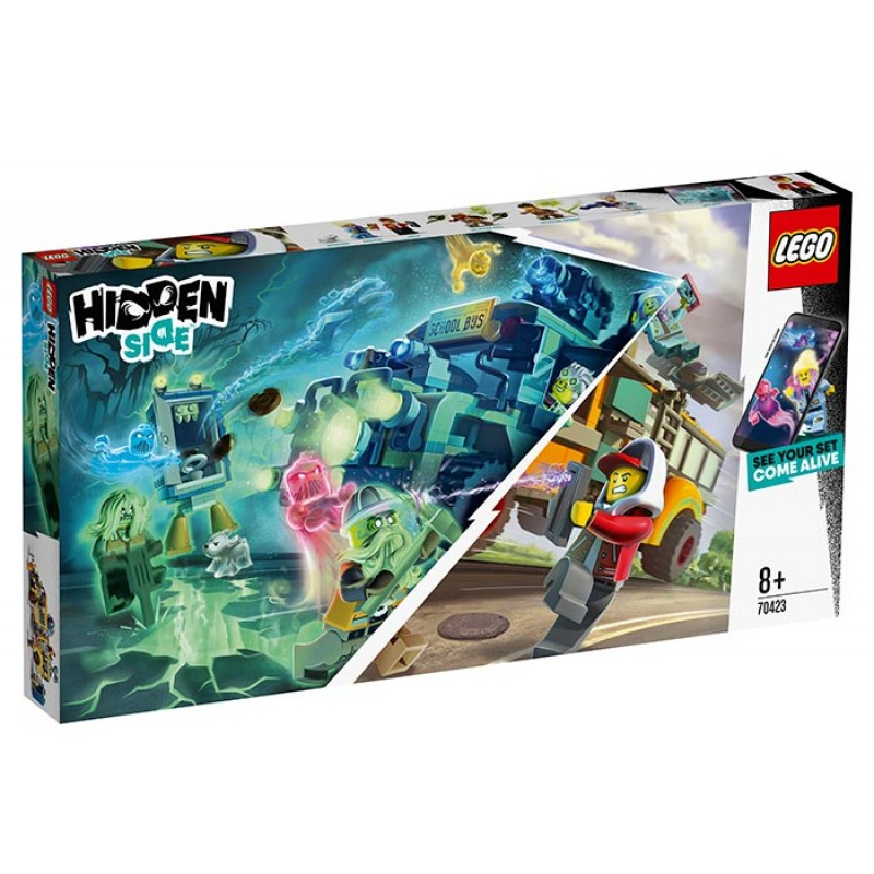 Autobuz paranormal Intercept 70423 Lego Hidden Side