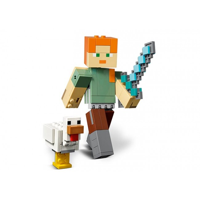 Alex BigFig cu gaina 21149 Lego Minecraft