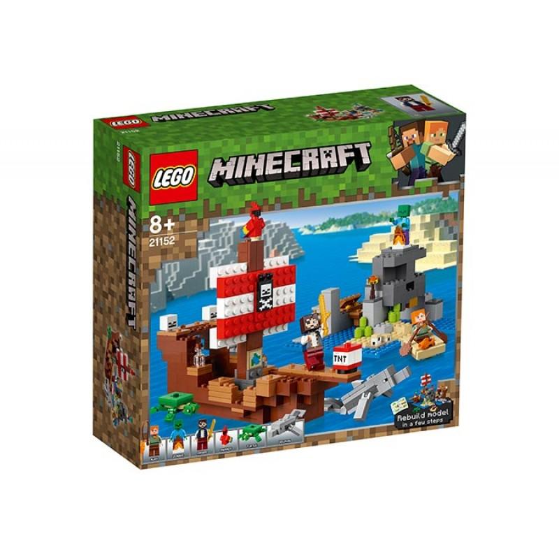 Aventura corabiei de pirati 21152 Lego Minecraft