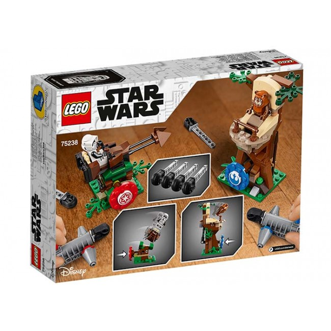 Atacul Action Battle Endor 75238 Lego Star Wars
