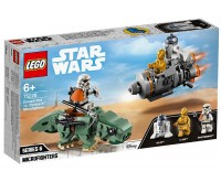 Capsula de salvare contra Dewback Microfighter 75228 Lego Star Wars