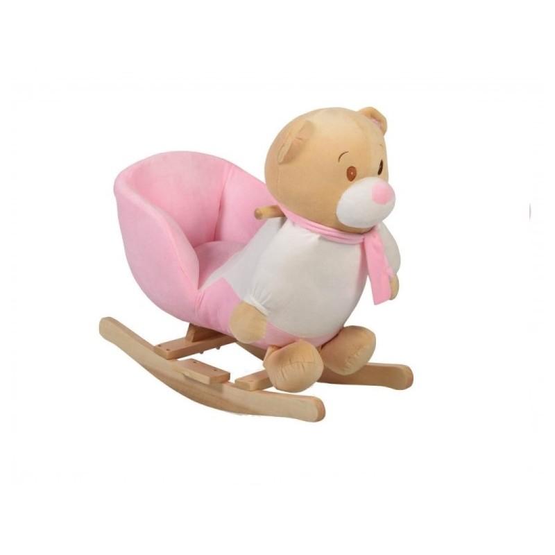 Balansoar plus pentru copii MONI Bear Roz WJ 635
