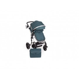 Carucior 2 in 1 Darling Green Silver