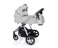 Carucior multifunctional Baby Design Husky Winter Pack 27 Light Gray 2020
