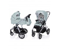 Carucior multifunctional Baby Design Husky Winter Pack 05 Turquoise 2020
