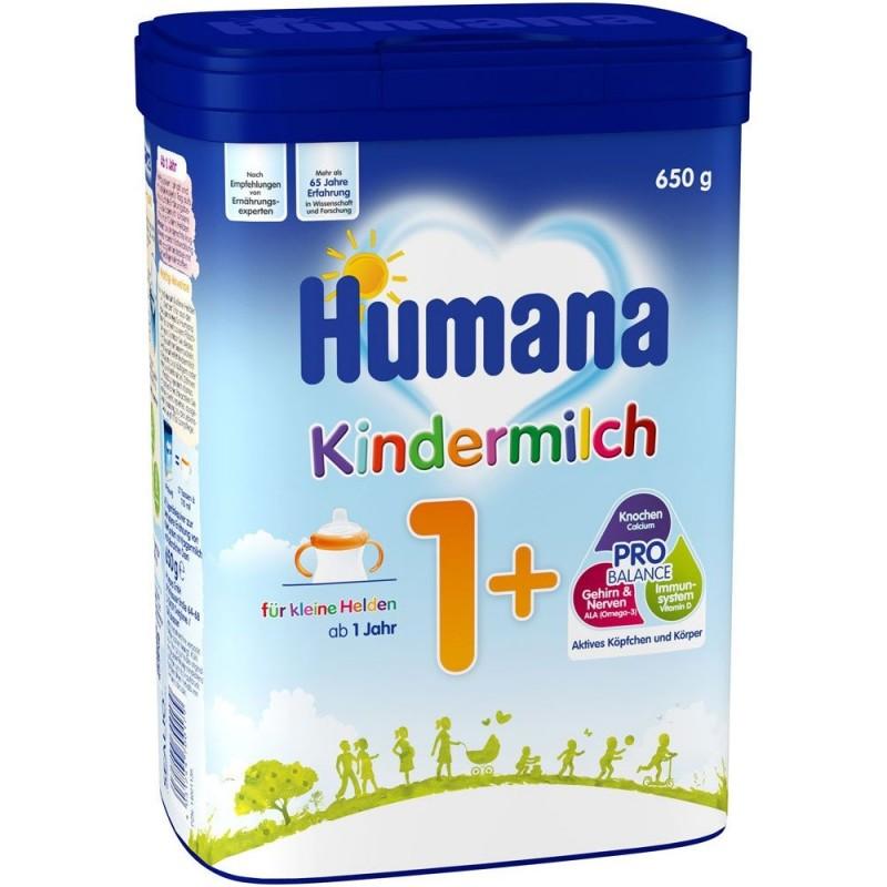 Lapte praf Humana Kindergetrank 1 Plus de la 1 an 650 g