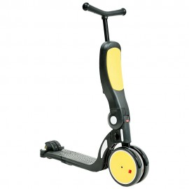 Bicicleta tricicleta si trotineta Chipolino All Ride 4 in 1 yellow