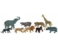 Animale salbatice set de 9 figurine Miniland