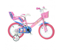 Bicicleta copii 14 Purcelusa Peppa Dino Bikes