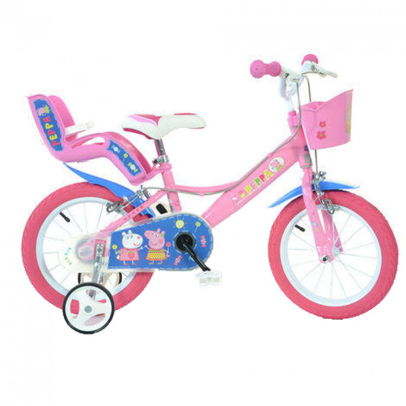 Bicicleta copii 14 Purcelusa Peppa Dino Bikes