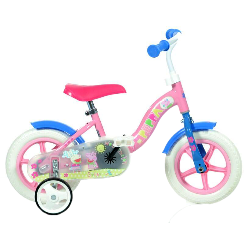 Bicicleta copii 10 Purcelusa Peppa Dino Bikes