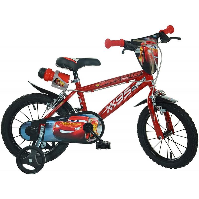 Bicicleta copii 14 Cars Dino Bikes