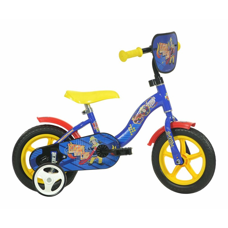 Bicicleta copii 10 Pompierul Sam Dino Bikes