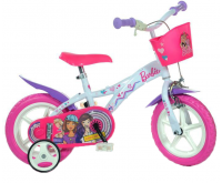 Bicicleta copii 12 Barbie Dino Bikes