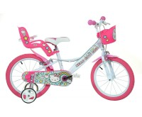Bicicleta copii 16 Hello Kitty Dino Bikes