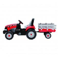 Tractor Maxi Diesel Peg Perego w trailer