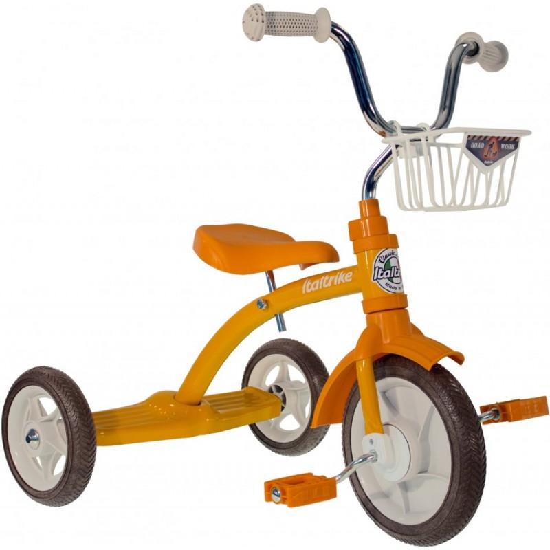 Tricicleta copii Super Lucy Champion galbena Italtrike