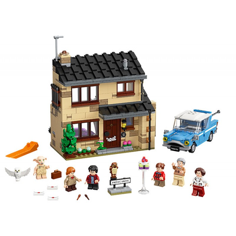 4 Privet Drive LEGO Harry Potter