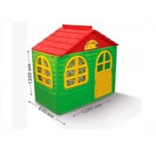 Casuta de joaca MyKids 02550 13 Green Red Small