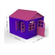 Casuta de joaca MyKids 02550 1 Pink Violet Mid