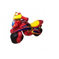 Motocicleta de impins MyKids Police Music 0139 56 Rosu Galben