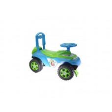 Masinuta de impins MyKids Music 0142 R 06 Albastru Verde