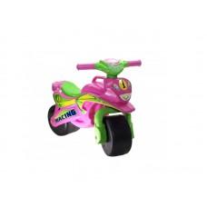 Motocicleta de impins MyKids Racing 0139 3 Roz Verde
