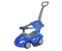 Masinuta multifunctionala 3 in 1 Ride On Blue Baby Mix