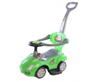 Masinuta multifunctionala 3 in 1 Ride On Green Baby Mix