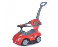 Masinuta multifunctionala 3 in 1 Ride On Red Baby Mix