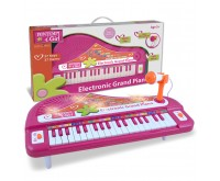 Pian Electronic Magic cu 37 clape si lumini Bontempi