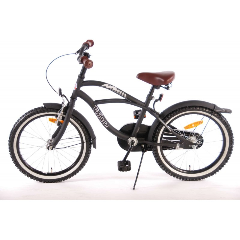 Bicicleta E L Black Cruiser 18 inch