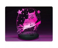 Lampa de veghe ColorLumy Night Owl Reer