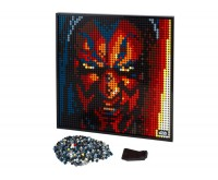 Star Wars Sith LEGO Art