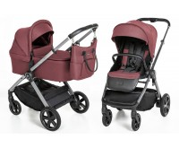 Carucior multifunctional 2 in 1 02 Maroon Holiday 2020 Espiro Only