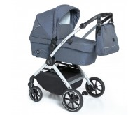 Carucior multifunctional 2 in 1 03 Navy 2020 Baby Design Smooth