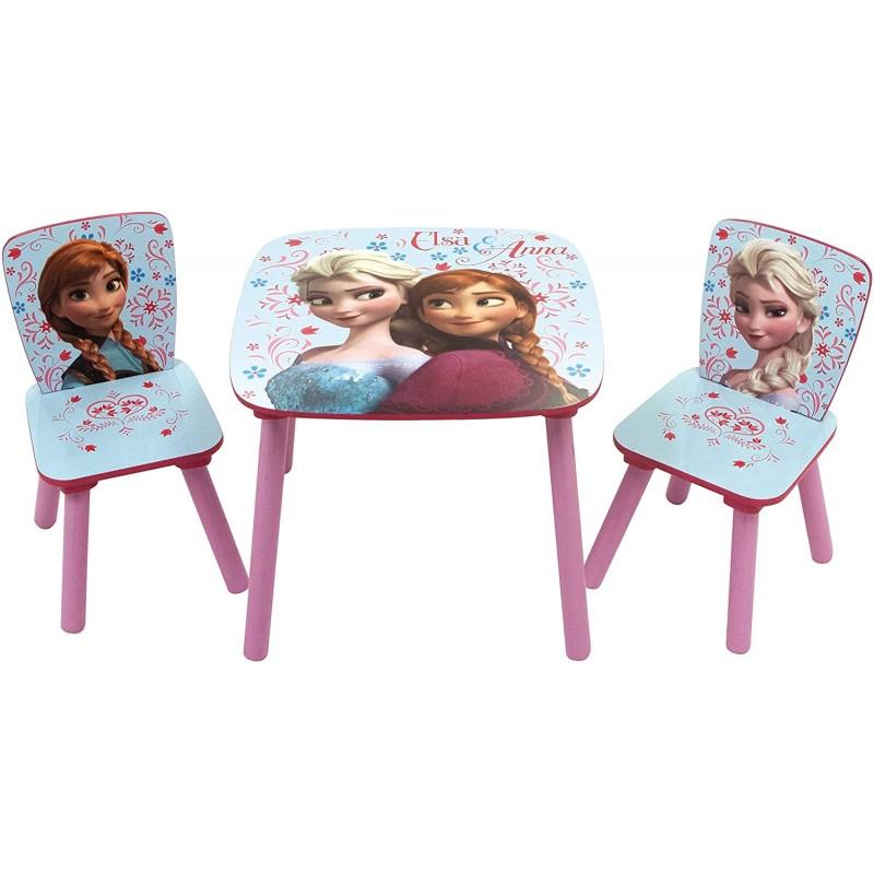 Set masuta si 2 scaunele Frozen Arditex