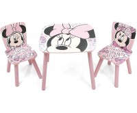 Set masuta si 2 scaunele Minnie Mouse Arditex
