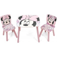Set masuta si 2 scaunele Minnie Mouse Arditex