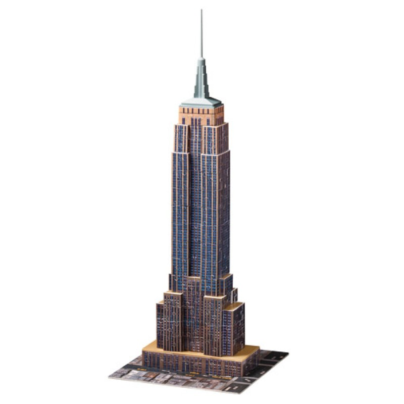 Puzzle 3D Empire State Building Lumineaza noaptea 216 piese Ravensburger