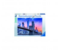 Puzzle apus pod New York 2000 piese Ravensburger