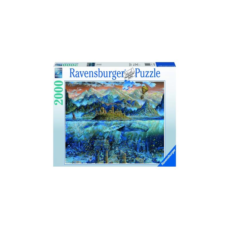 Balena Fantastica 2000 piese Puzzle Ravensburger