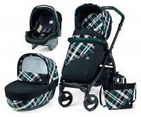 Carucior 3 in 1 Book Plus Modular Peg Perego Tartan