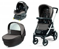 Carucior 3 In  Peg Perego Book Plus 51 S Titania baza i Size inclusa Class Grey